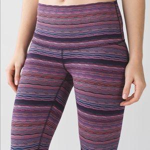 Lululemon Wunder Under Pants Space Dye Twi…
